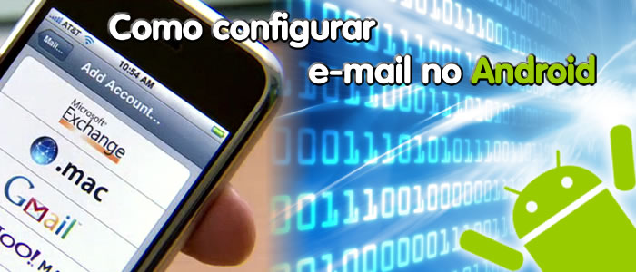 Como configurar e-mail no Android