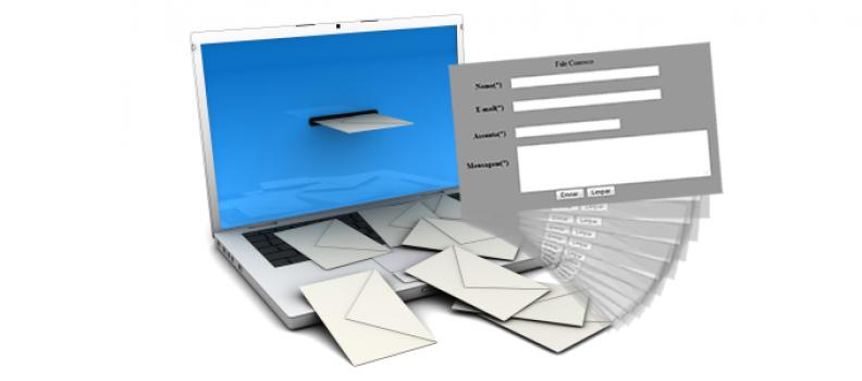Criando Formulário de envio de e-mail